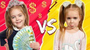 Лера и ее история про богатого и бедного школьника